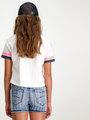 Garcia Baseball T-shirt D92603 Wit