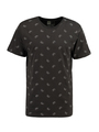 dedicated t-shirt met allover print grijs