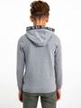 garcia hoodie i93403 grijs