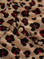garcia panterprint rokje n00321 bruin