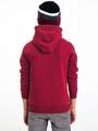 garcia hoodie met tekst i93460 rood