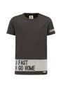 garcia t-shirt met opdruk h93600 zwart