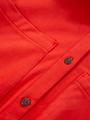 garcia suedine overhemdjurk l90081 rood