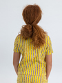 garcia t-shirt gestreept o02404 geel