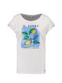 garcia t-shirt met print o00003 wit