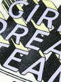 garcia t-shirt met tekstprint e92404 wit