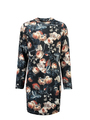 garcia bodycon jurk met overall print l92680 blauw
