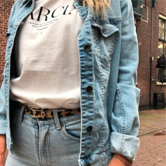 Hoe combineer ik denim on denim?