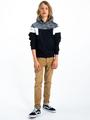 garcia hoodie met print i93462 zwart