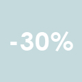 spring deals - 30% korting