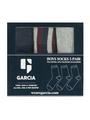 garcia sokken met opdruk l93735 blauw