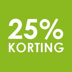 25% op jassen / jeans