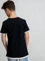 garcia t-shirt met print e93401 zwart