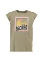 garcia t-shirt met opdruk o02401 groen