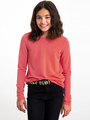 garcia long sleeve i92405 roze-rood