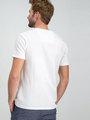 garcia gestreept t-shirt g91011 wit