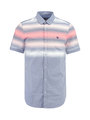 garcia overhemd met korte mouwen e91027 lichtblauw
