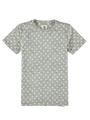 garcia t-shirt met allover print groen ge030402