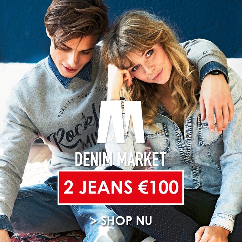Denim Market: 2 jeans €100