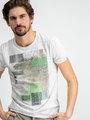 Garcia T-shirt Korte Mouwen D91204 Wit
