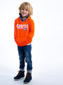garcia hoodie I95460 oranje