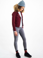 garcia gestreepte blouse i92434 blauw-wit