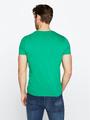 chief t-shirt met opdruk pc010301 groen