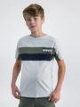 garcia colourblock t-shirt o03404 wit