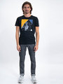 garcia t-shirt met opdruk j91204 zwart