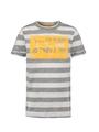 garcia t-shirt met opdruk o05605 groen