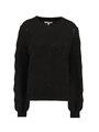 garcia gebreide trui i90042 zwart