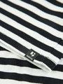garcia t-shirt e92402 gestreept zwart-wit