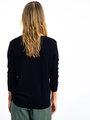 garcia trui met print i90041 zwart