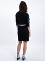 garcia jurk met rits l90082 zwart