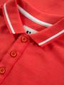 garcia polo met opdruk gs030104 rood