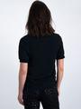 garcia t-shirt met turtleneck l90033 zwart