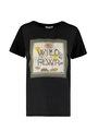 garcia t-shirt met opdruk m00005 zwart