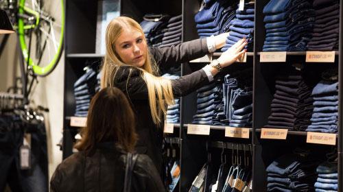 Werken bij jeans centre