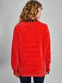 garcia chenille trui j90254 rood