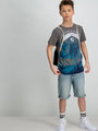 Garcia T-Shirt Met Fotoprint D93604 Grijs