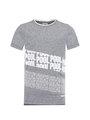 Garcia T-Shirt Met Tekstprint D93603 Blauw