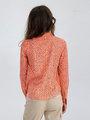 garcia blouse met allover print m02433 oranje