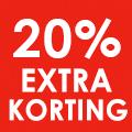 20% extra kassakorting