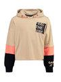 garcia hoodie met opdruk m02461 beige