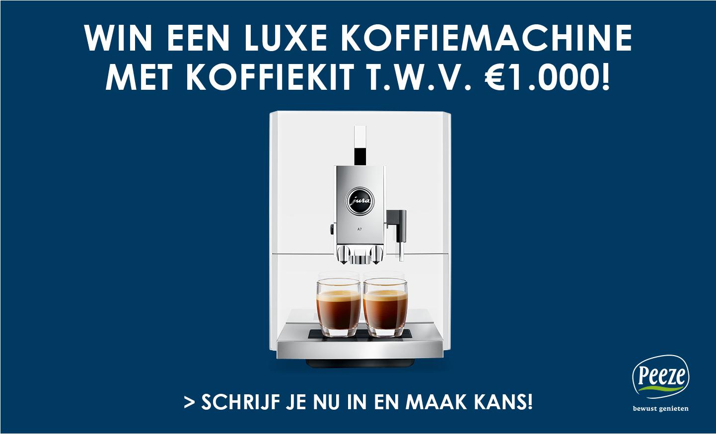 Win een koffiemachine!