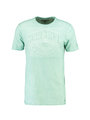 garcia T-shirt met opdruk PG910201 groen