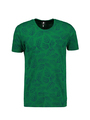 chief t-shirt met allover print groen pc010403