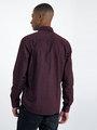 garcia overhemd met allover print l91032 rood