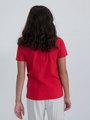 garcia t-shirt met opdruk n02601 rood