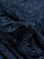 garcia jurk met glitters k94481 donkerblauw